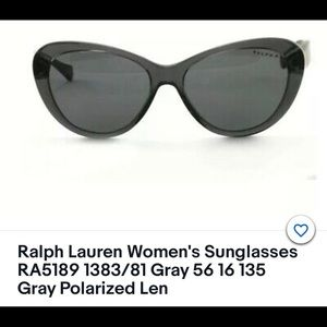 Ralph Lauren Polarized Cat eye sunglasses